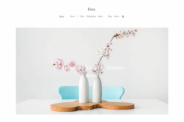 Fern - Pixpa Portfolio Website Templates