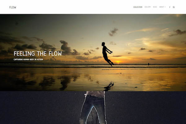 Flow - Pixpa Portfolio Website Templates