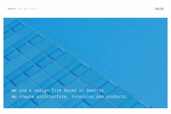 Folio - Pixpa Portfolio Website Templates