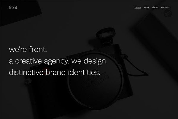 Front - Pixpa Portfolio Website Templates