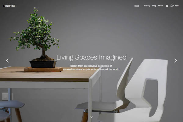Highrise - Pixpa Portfolio Website Templates