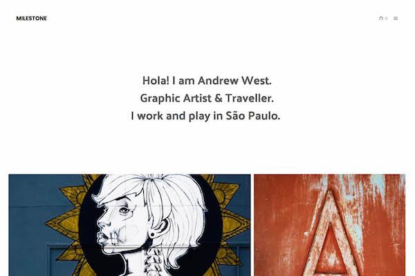 Milestone - Pixpa Portfolio Website Templates