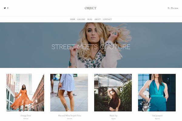 Object - Pixpa Portfolio Website Templates