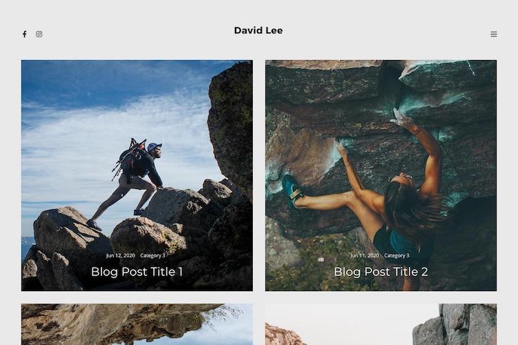Palette - Pixpa Portfolio Website Templates
