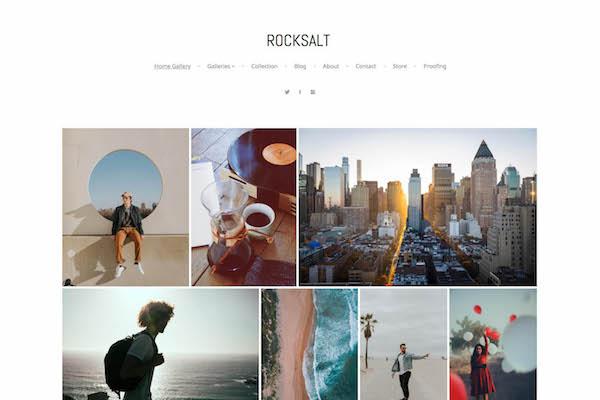 Rocksalt - Pixpa Portfolio Website Templates