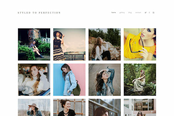 Style - Pixpa Portfolio Website Templates