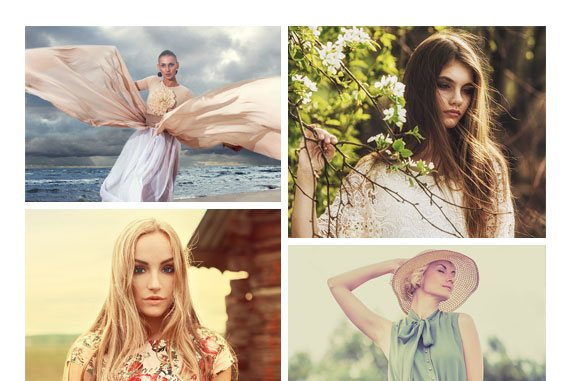 HTML Responsive Gallery layouts - Dynamic Vertical Large