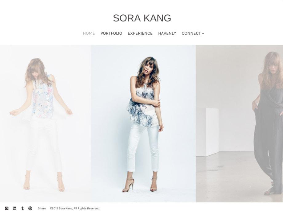 Modeling Portfolio Websites For Models Stylists And Makeup Artists