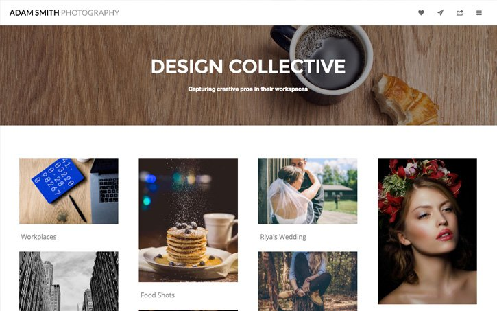 Best Online Client Album Galleries for Photographers